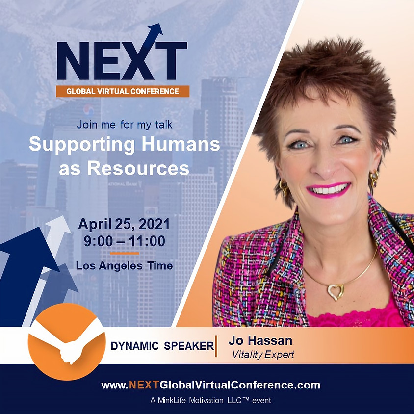 NEXT Global Virtual Conference™  with Jo Hassan