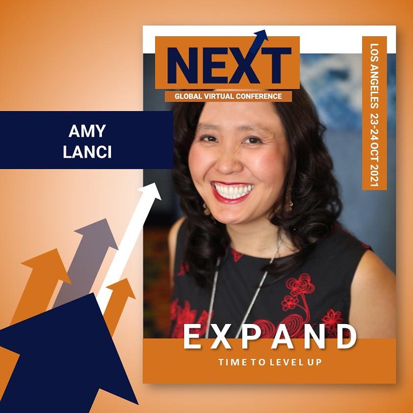 NEXT Global Virtual Conference™   - EXPAND LA  - Amy Lanci