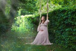 Séance grossesse en extérieur au château