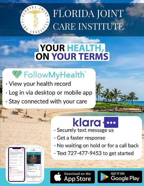 FollowMyHealth + Klara