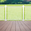 Thumbnail: Aluminum Railing with Glass Panels (White)