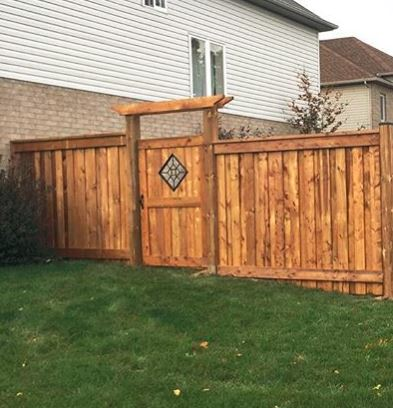 Gate Insert By Platinum Woodscapes