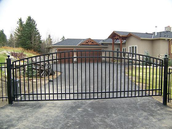 Idaho Driveway Gate