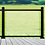 Thumbnail: Aluminum Railing with Glass Panels (Black)