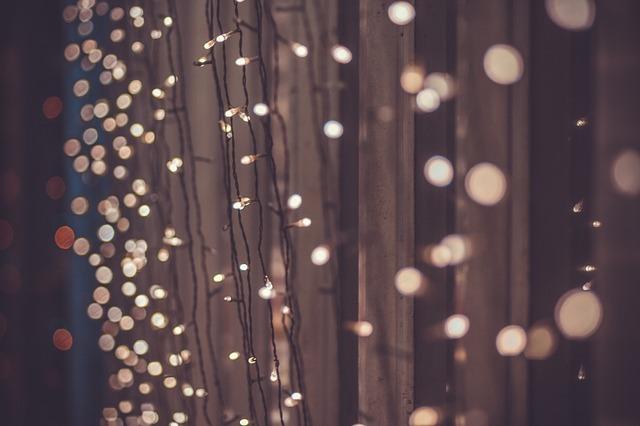 Backyard Fence Light Strands