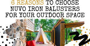 Why You Should Choose Nuvo Iron Balusters For Your Outdoor Space
