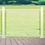Thumbnail: Garde-corps en aluminium avec panneaux de verre (Blanc)