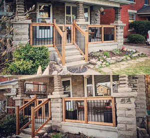 Anchor Construction - Baluster Porch Project - https://www.instagram.com/anchorconstruction/
