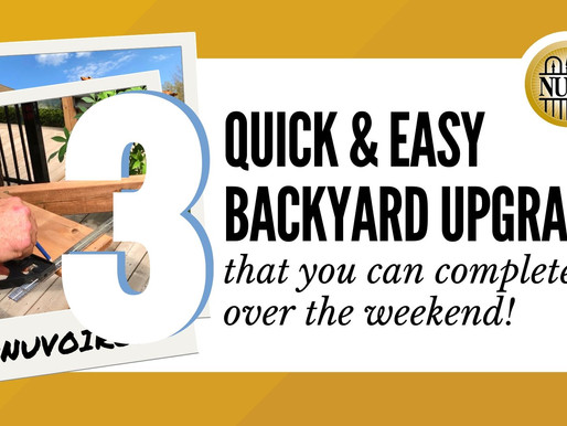 3 Quick & Easy Weekend Backyard Upgrades