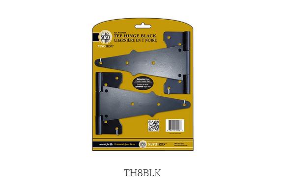 Ferrures Pour Portillon En Bois - TH8BLK