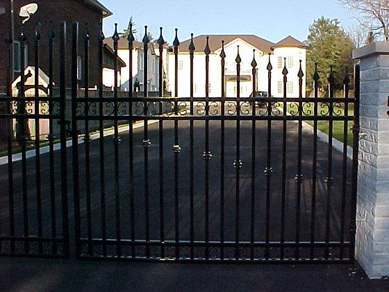New Jersey Driveway Gate