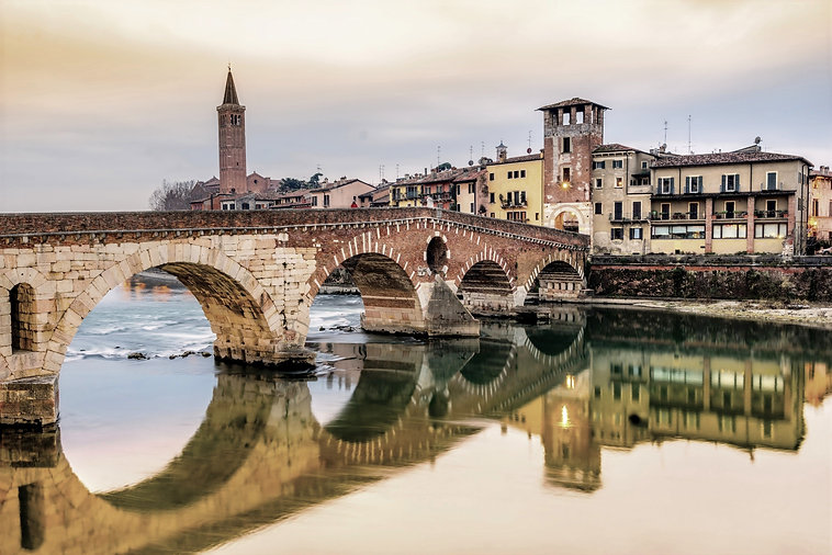 Verona, Italy. Scenery with Adige River and Ponte di Pietra_edited.jpg