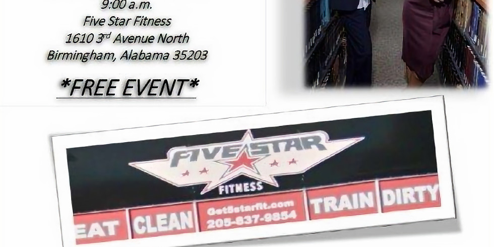 Get Fit with SYM and Five Star