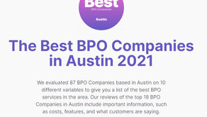 GroupBDO named by Digital.Com as one of the Top Sales Support BPO's in Austin, Texas for 2021-22