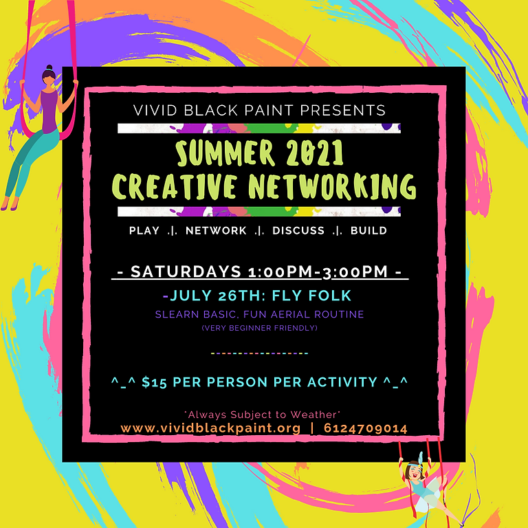 Summer 2021 Creative Networking: Fly Folk