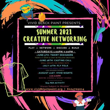 Summer 2021 Creative Networking Insta Po