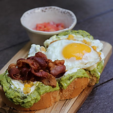Mexican Avo-Toast