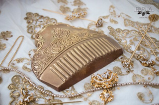 Peinetas falleras de chocolate