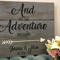 "Wedding Sign 24""x24"""