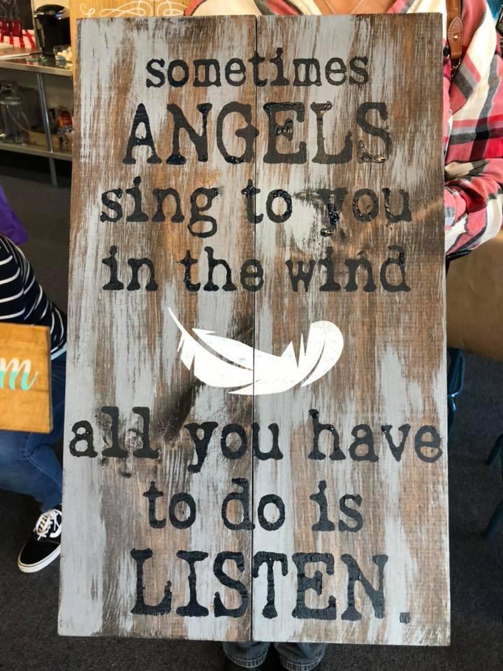 "Angels Sing 16""x24"""