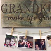 "Grand Grandkids 10""x24"""
