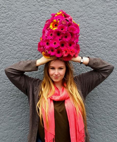 Sara Wears A Hat