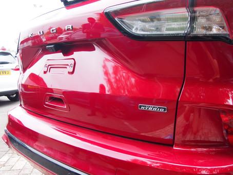 Ford's upgraded KUGA Hybrid