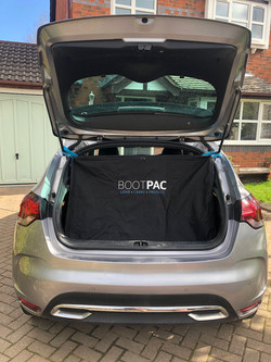Midsize Hatchback, Here the BOOTPAC is shown in a Citroen DS4