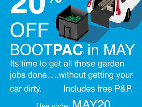 20% off during May 2021