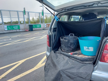 The recycling centre: the natural home of the Bootpac
