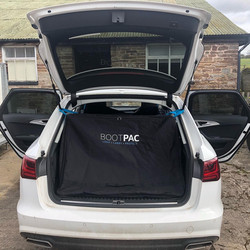 , Here the BOOTPAC is shown in an Audi A6 AVANT
