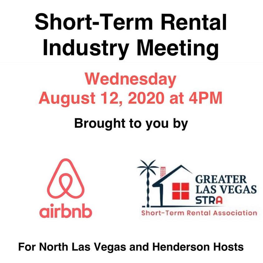 Short-Term Rental Industry Meeting