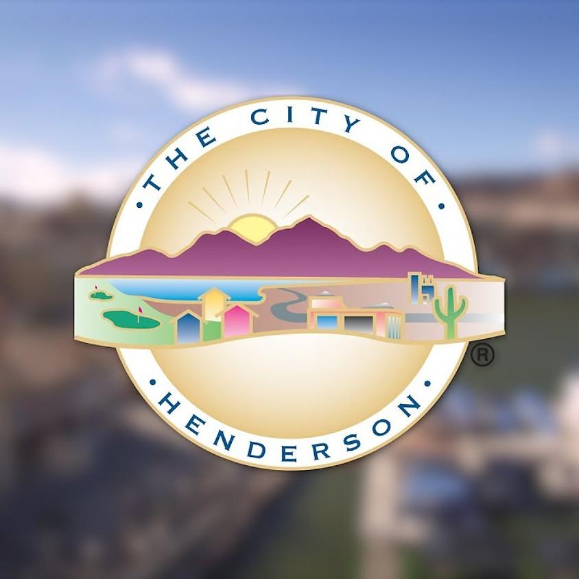 City of Henderson STR Meeting
