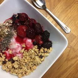2 cup frozen mixed berries
