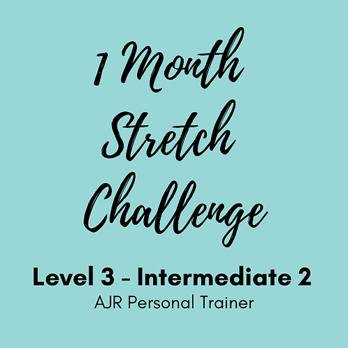 Intermediate Level 3 - 1 Month Stretch Challenge