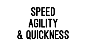 SAQ - Speed, Agility and Quickness Training