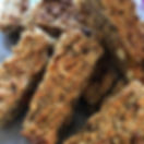 Played about with some healthy baking today! These are flapjacks, but after tasting I'd say they're