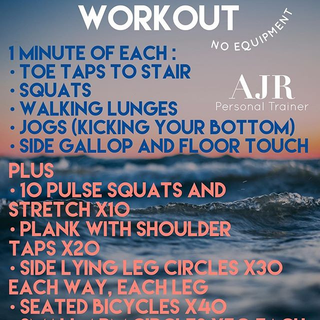 ONE SET WEEKEND WORKOUT