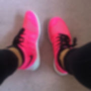 New kicks from Nike Outlet...luminous trainers ready for DiscoFit starting next Monday 7.jpg