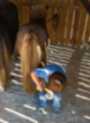 Après une balade à cheval Anduze