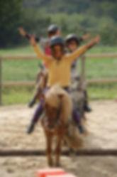 Cours de cheval baby Anduze