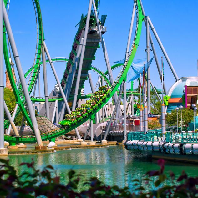 The Incredible Hulk Coaster®