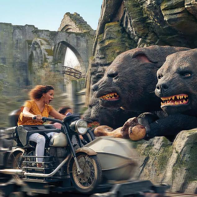 Hagrid's Magical Creatures Motorbike Adventure™