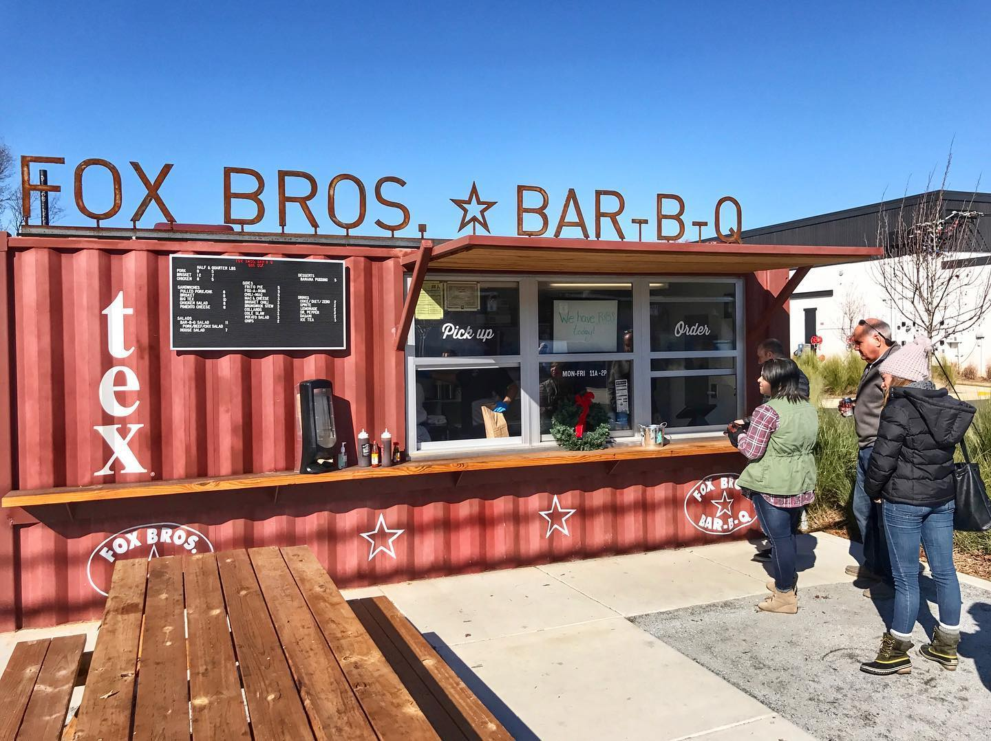 Fox Bros BBQ Outside