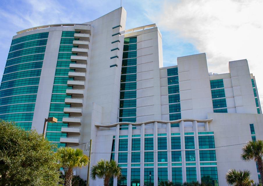 Sandy Beach Resort MB Front