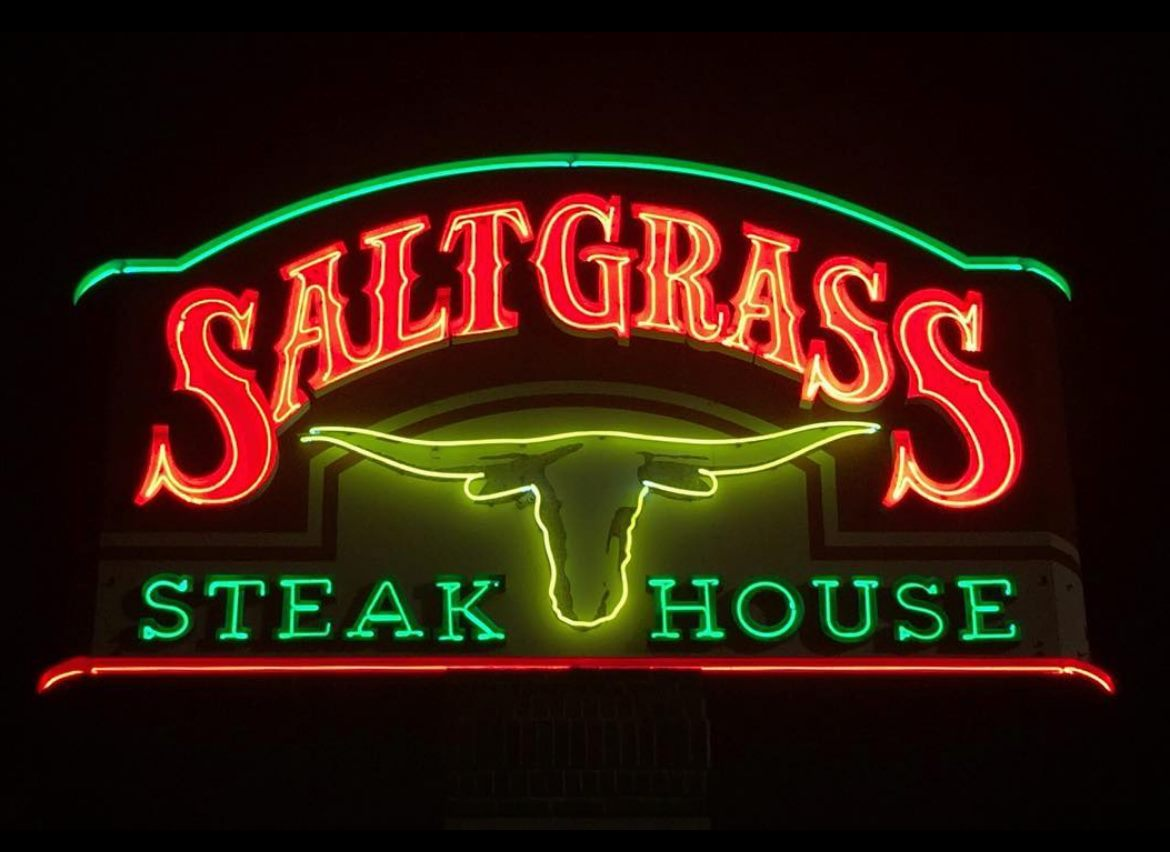 saltgrass sign