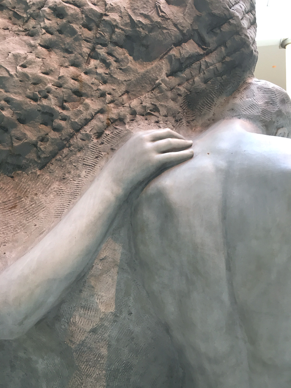 The Solitude of the Soul by Lorado Taft (1860-1936). Photo by Diana Dinverno