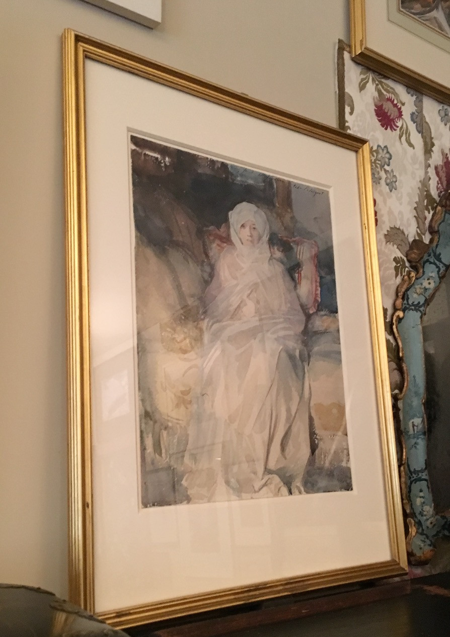 Mrs. Gardner in White by John Singer Sargent. Photo by Diana Dinverno.
