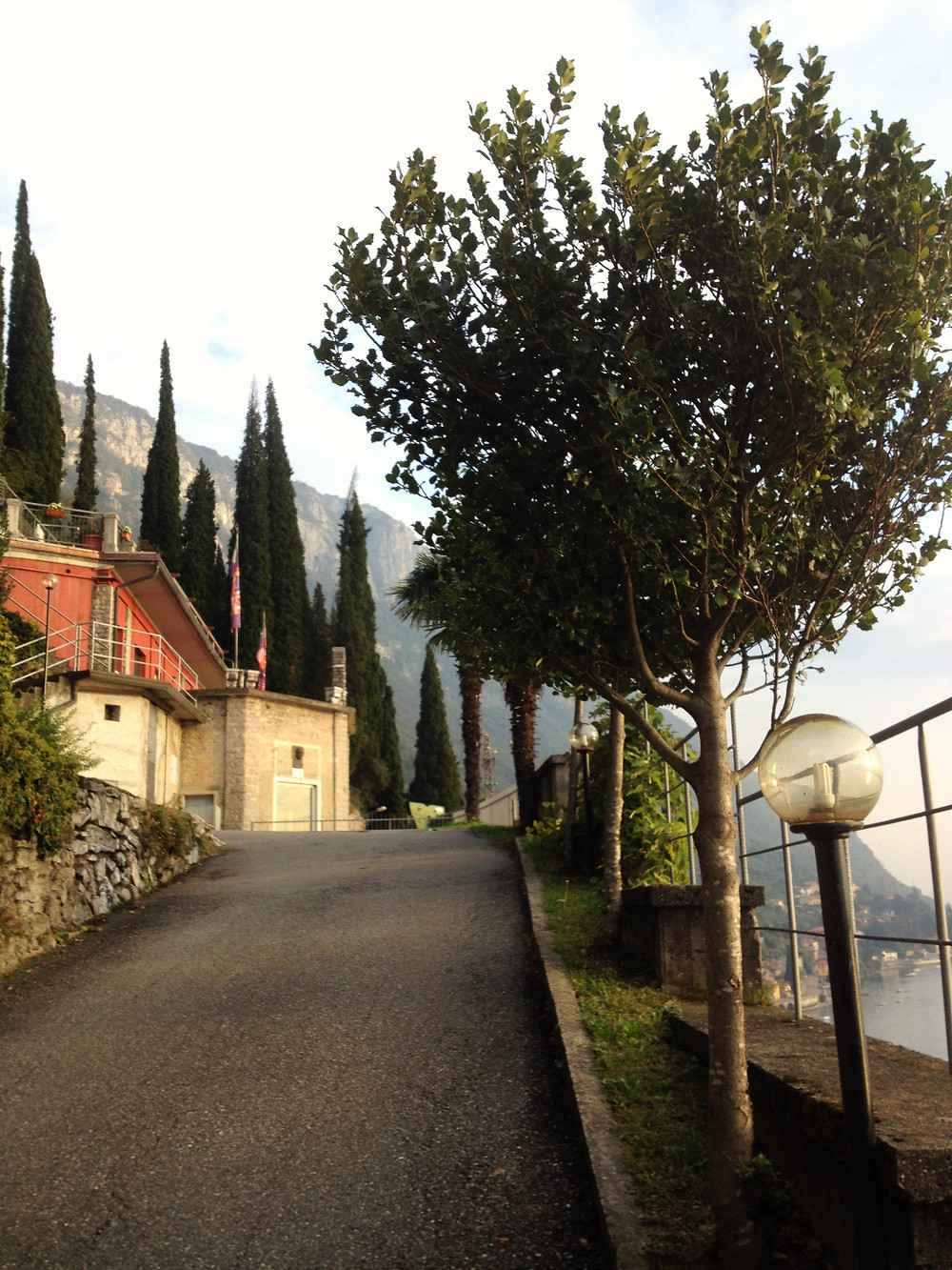 View from a walk to Varenna. Photo by Diana Dinverno