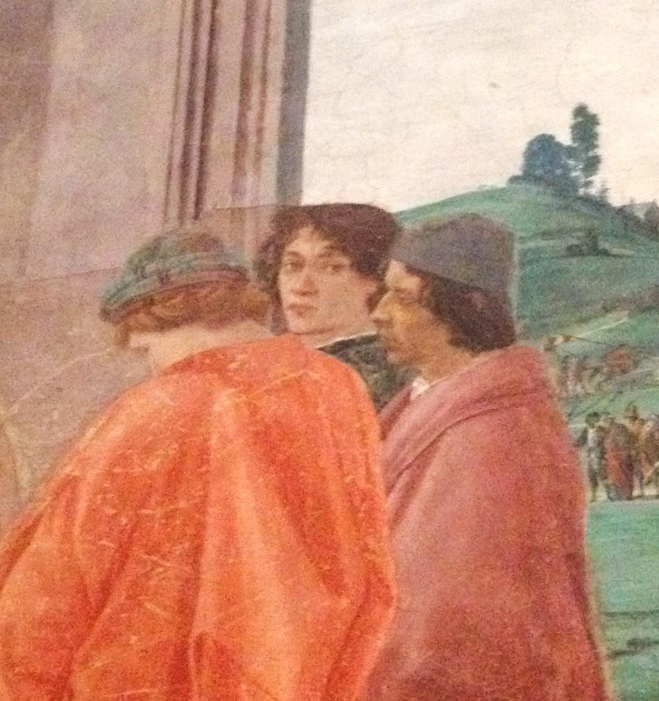 Fresco by Filippino Lippi. Photo by Diana Dinverno